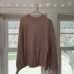 H&M Pink cashmere sweater